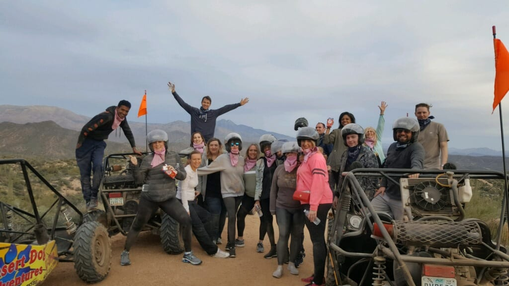 dune buggy tour group
