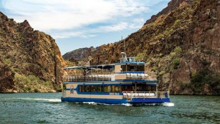 Desert Belle on Saguaro Lake